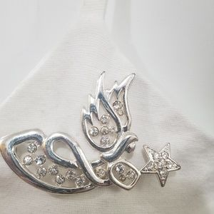 Sold Angel Brooch